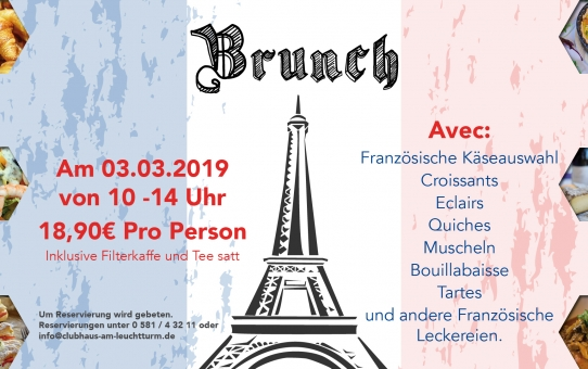 Brunch am 03.03.2019