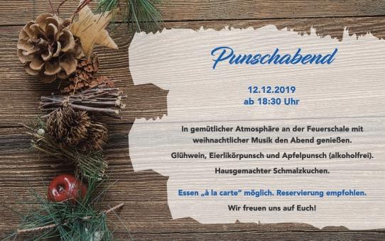 Punchabend am 12.12.2019