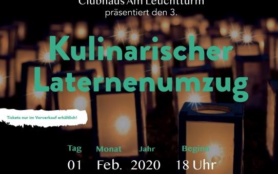 Kulinarischer Laternenumzug am 01.02.2020