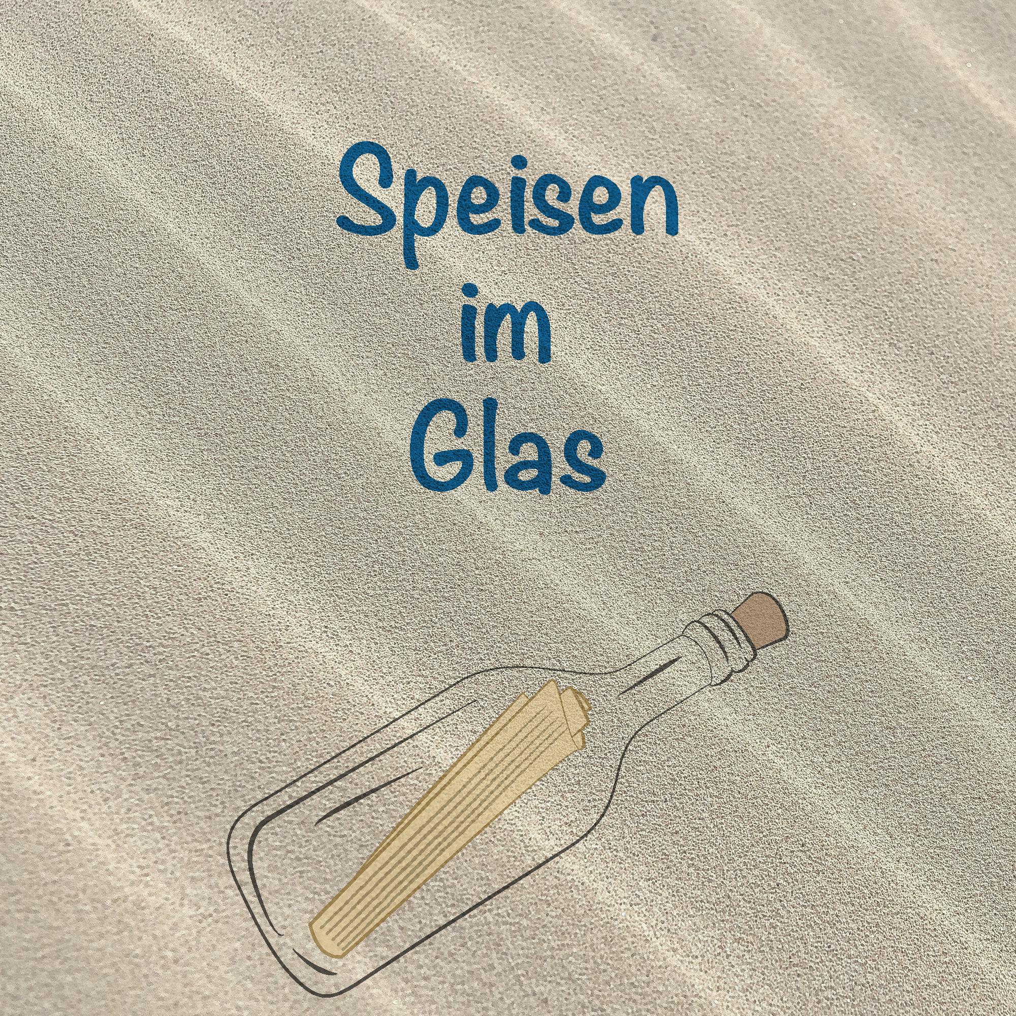 Leuchtturms Flaschenpost - Speisen im Glas