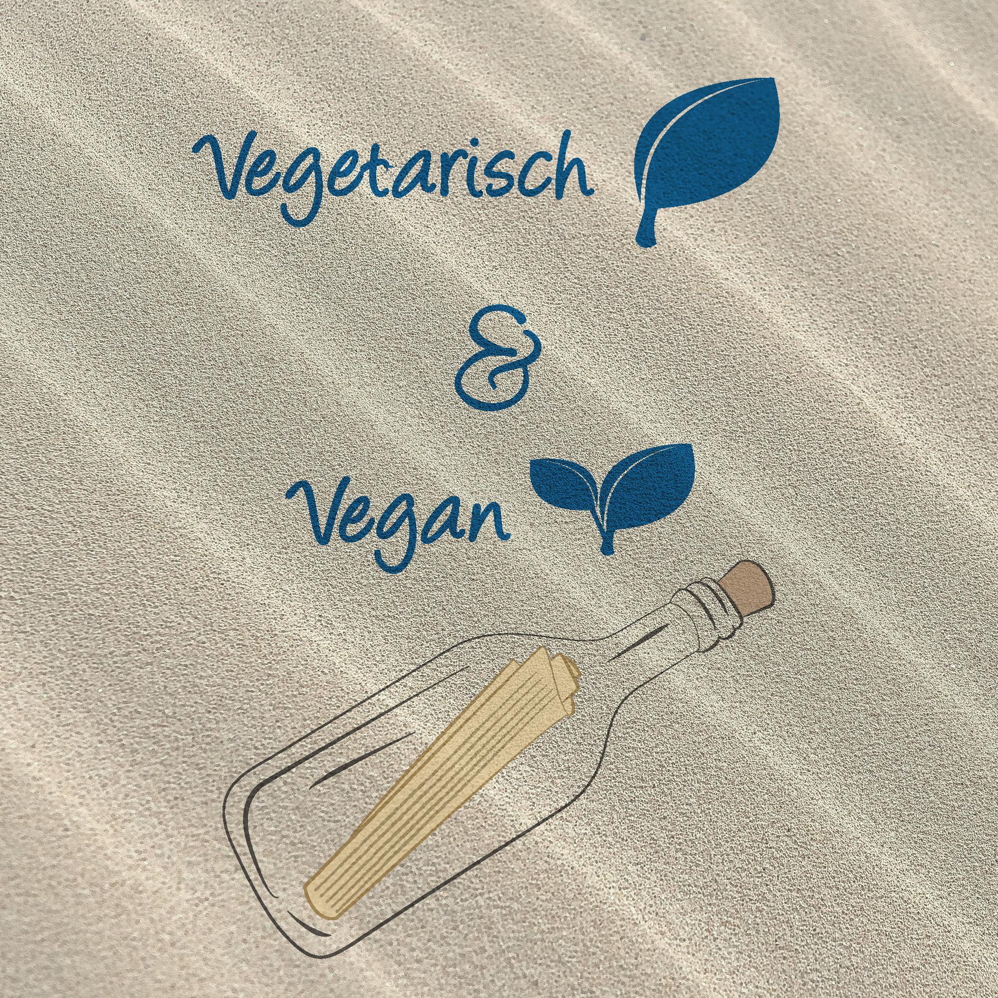 Leuchtturms Flaschenpost - vegetarisch und vegan